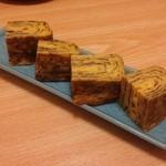 鮨処かん - 料理写真:厚焼き玉子