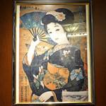 66DINING 六本木六丁目食堂 - 昭和美人画のポスター