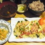 10ZEN  - ぶりのお刺身定食