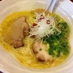 麺処 瓢たん - 地鶏パイタン塩