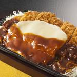 フードテラス 手打ちとんかつ古炉奈  - 料理写真:デミチーズ鉄板とんかつ920円