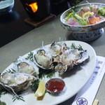 現役漁師の温泉宿 よしかわ海喜園 - 料理の一部