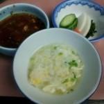 松もと - ふぐ雑炊。ポン酢を少々たらすと美味しい。