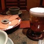 チェディルアン 北堀江本店 - ここの生ビール最高ですよ