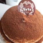 tete - ショコラタルト¥360