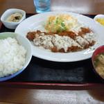 17247387 - チキン南蛮カツ定食730円