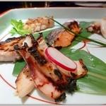 はる - 魚介5種の塩麹炙り
