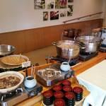 17247906 - 煮物・蕎麦コーナー