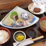 平野鮮魚 - 2013年1月刺身定食