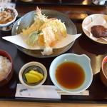 平野鮮魚 - 2013年1月天ぷら定食