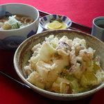 丼 お多福 - 料理写真:げそ天丼