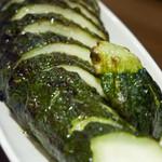 ワッシーズダイニングスープル - 季節野菜の炭火焼き:ズッキーニ