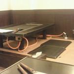 大和 - 畳じきのテーブル