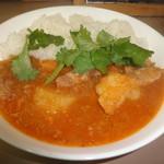 ミャンマーカレー TeTe - 豚軟骨赤カレー1
