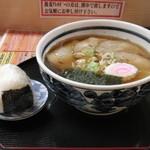 17251101 - チャーシューメン&おにぎり(鮭)