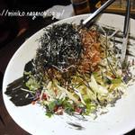 鳥蔵 黒船 - キャベツの和風サラダ