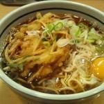 吉そば - 天玉そば(410円)