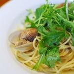 17253752 - アサリと水菜