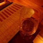 フロマージュミナミ - 2013.02 まずはシャンパンを頂きました(テイスティングサイズ)