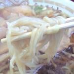 旨一食堂 - チャーシューメン麺拡大