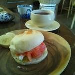 いまここcafe 杜丸 - サンドイッチと紅茶