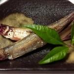 17256042 - 北海道産の本当のシシャモ。完璧な焼き加減。これは美味しいです。