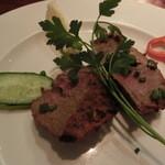 ボンベイクラブ - 牛ヒレ肉の土窯焼きステーキ