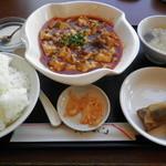 17258374 - 四川マーボー豆腐定食