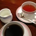 日本料理・鮨 あしび  - コーヒーと紅茶