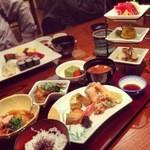 日本料理・鮨 あしび  - 翠奨昼御膳