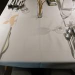 イタリアン オット - テーブルセッティング