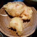 釜出しうどん こと平 - 鶏天(こと平ランチ)