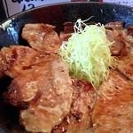 17263324 - 豚丼(四元豚ロース) 800円