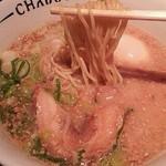 チャブトン - チャブトンチャーシューメン 麺リフト