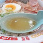 いこい食堂 - 塩スープアップ