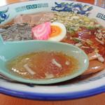 いこい食堂 - 正油スープアップ