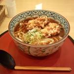 海菜魚藩 - 野菜かき揚げ麦切り