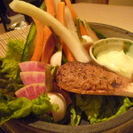Sammaimesukegorou - いわて県産生野菜とすり身味噌 ¥580