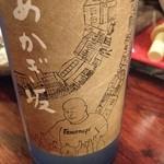 17269455 - 2013.2 このエチケットは なんと 作家 村松友視氏が描いたもの