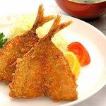 レストラン吉兵衛 - 料理写真:アジフライ定食 960円
