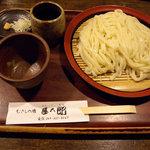 むさしの庵 甚五郎 - ざるうどん(650円)_2009-06-20