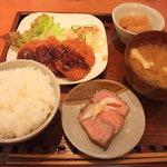 甘夏食堂 - 今日のごはん(洋風)800円