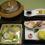 箱根パークス 吉野 - 夕食の一部