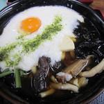 高松屋 - 温かい山菜トロロ