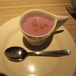 17273872 - 紫芋のポタージュ