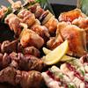 Toriichidai - 料理写真:おまかせ焼きとり盛り合わせは産地にこだわった、伊達鶏を使用した人気の焼き鳥です♪