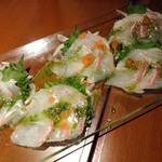 HaLe Resort - 鯛のカルパッチョ