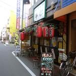 居酒屋 串松 - この辺りは呑み屋の巣窟である。