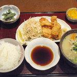 Bungochaya - 豊後定食900円