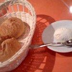 1728482 - パンと燻製バター